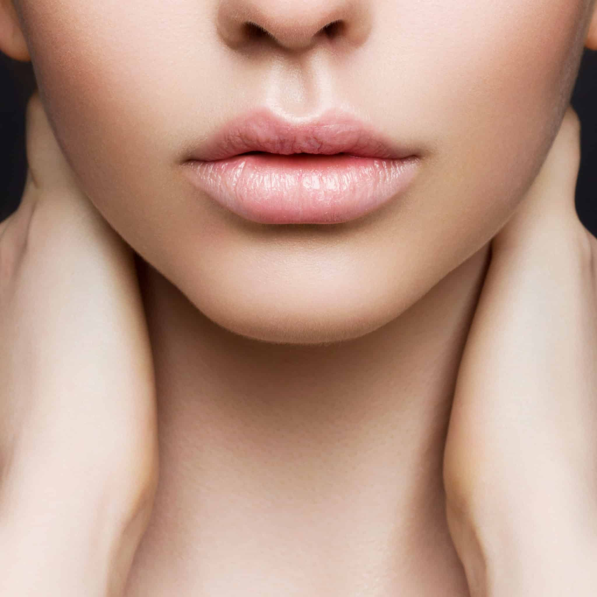 Увеличение губ хирургическим путем
