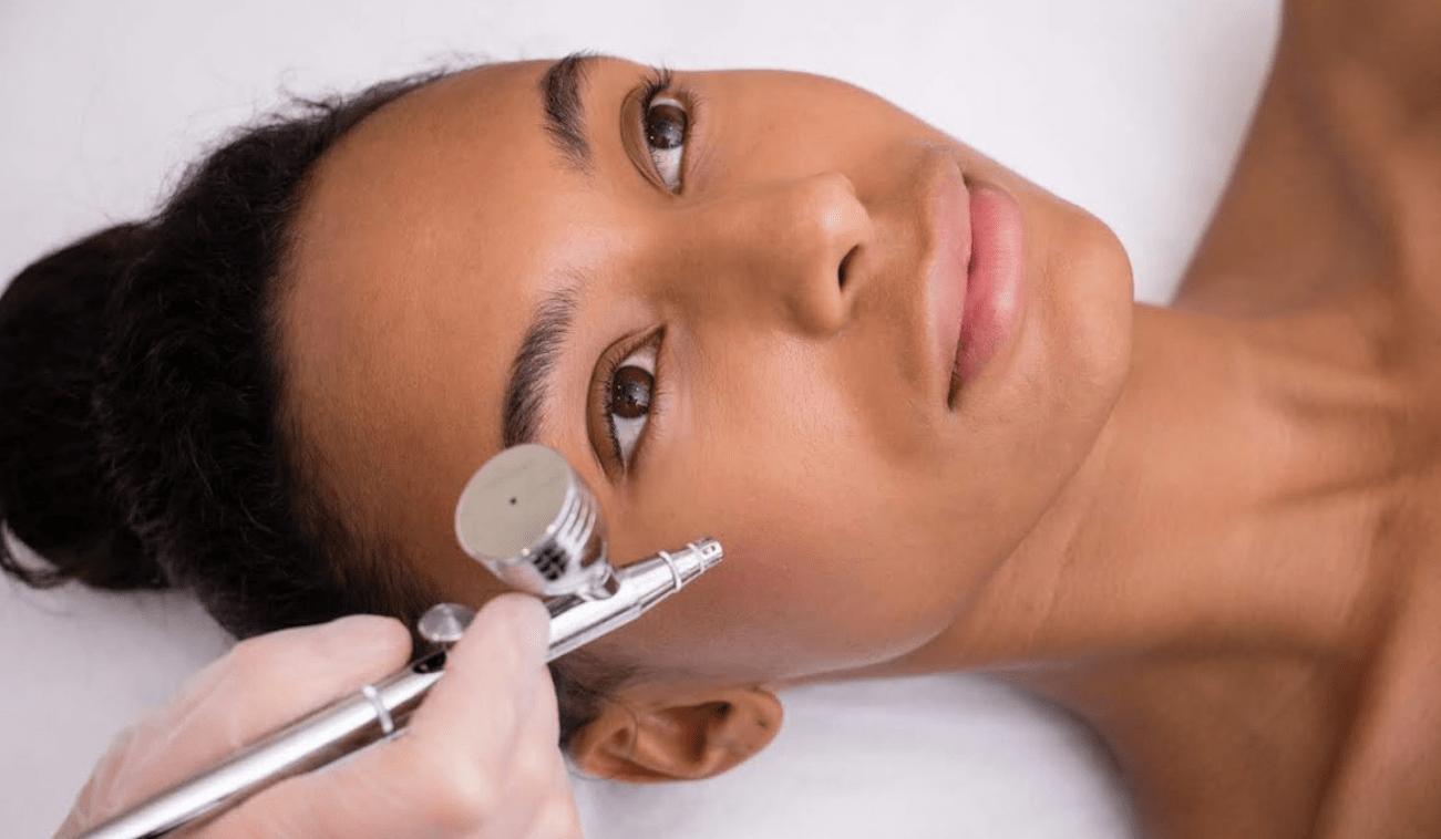 Кислородная мезотерапия лица на аппарате