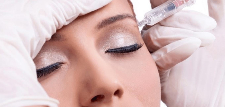 Мезотерапия для бровей