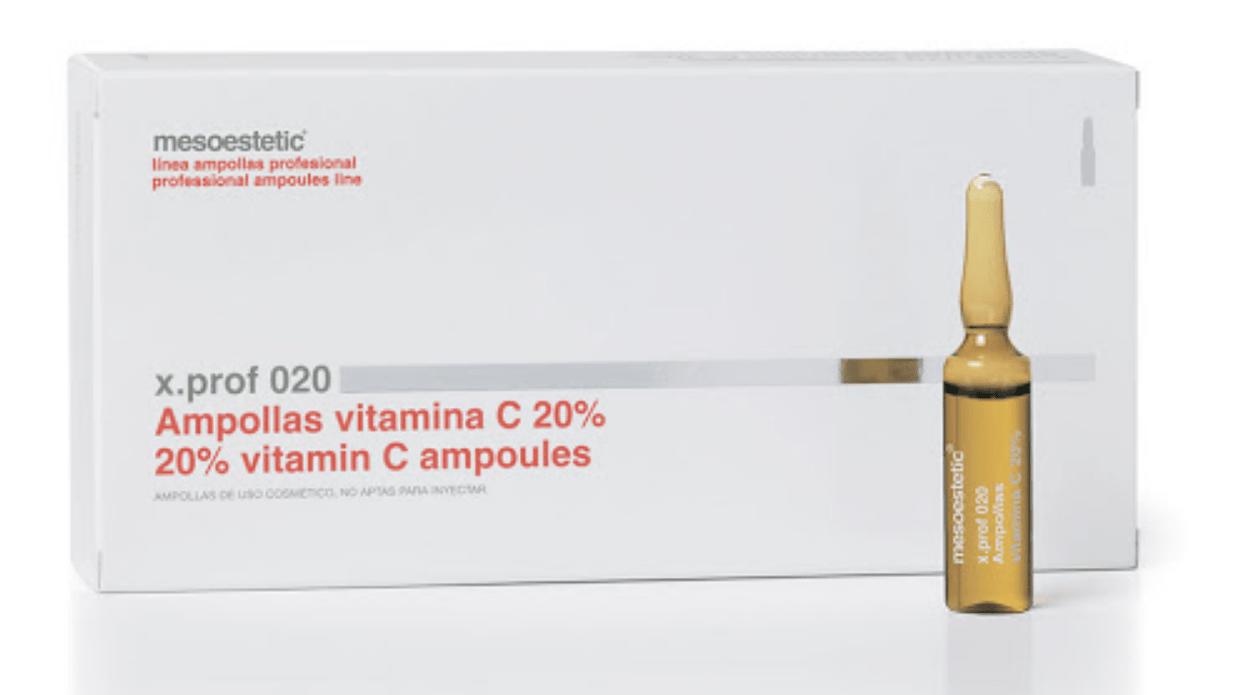 Мезотерапия лица с витамином с
