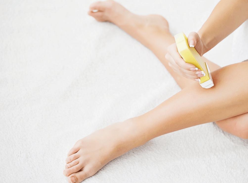 депиляция ног в домашних условиях