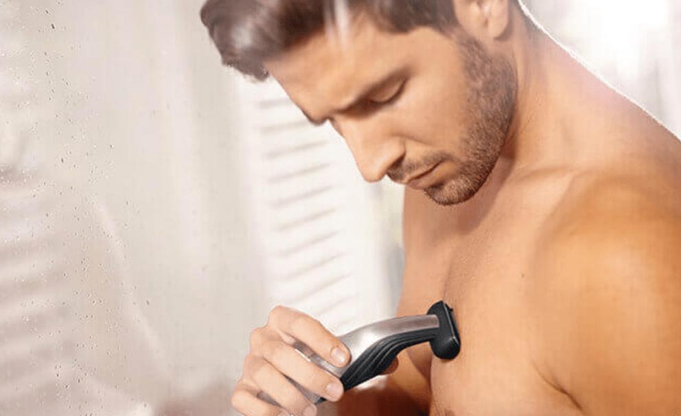 Удаление волос на груди