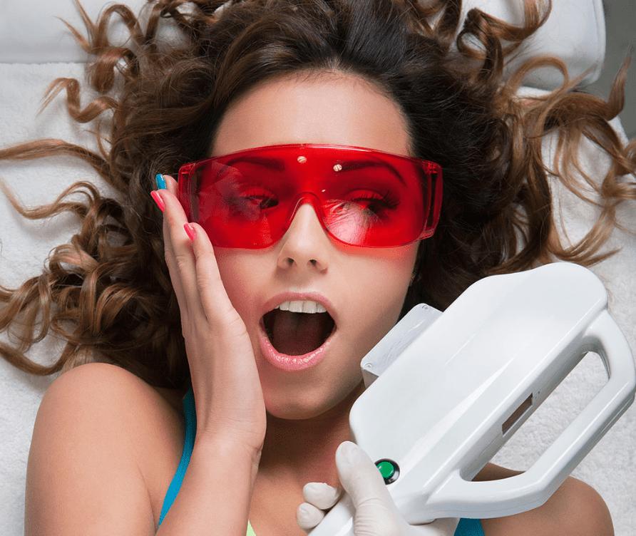 эпиляция усов у женщин