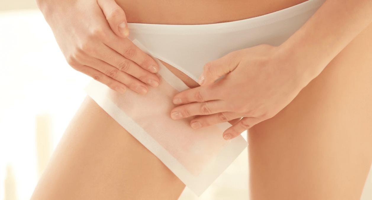 полоски для депиляции бикини как пользоваться